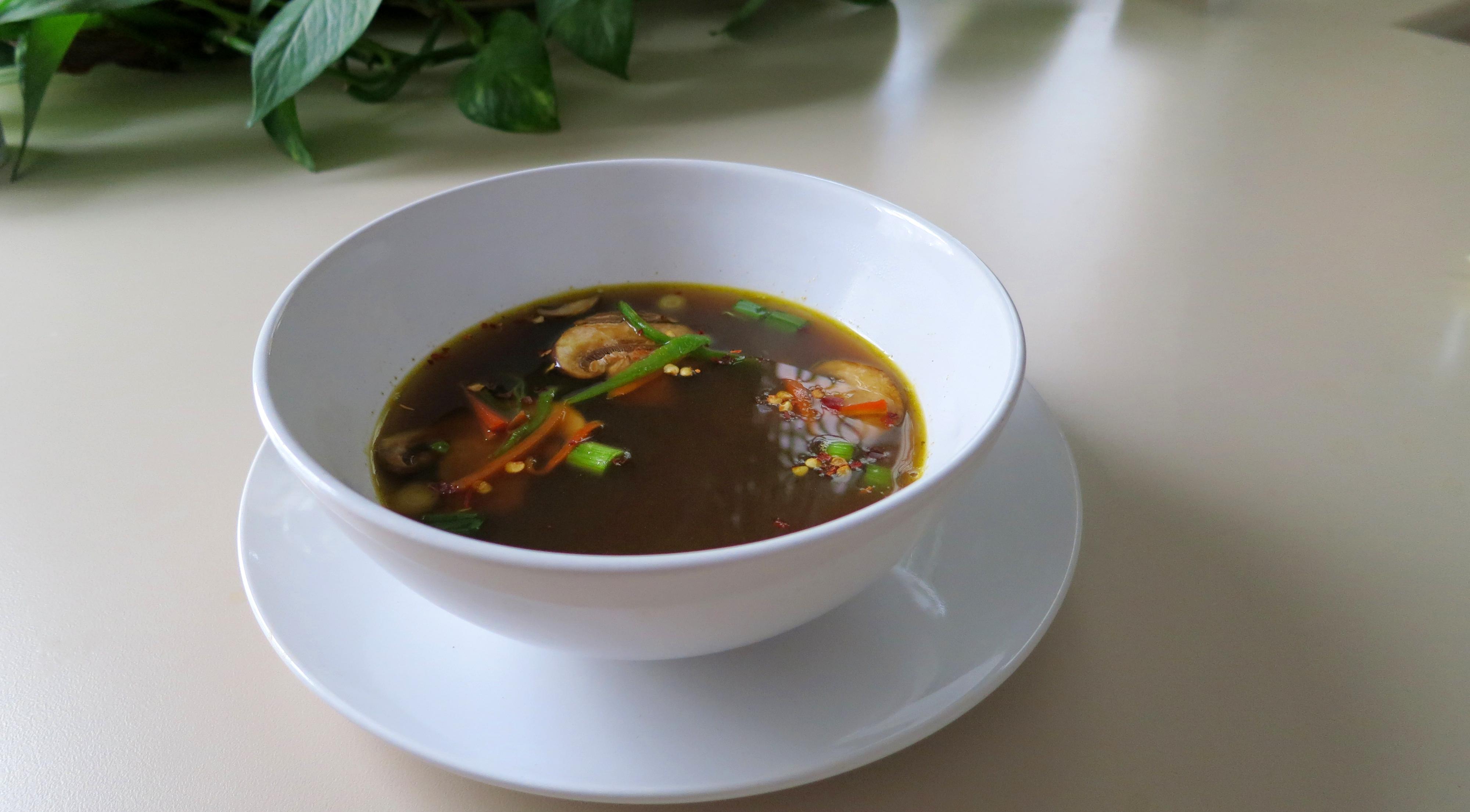 mushroom soup recipe