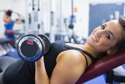 beginner weight lifter