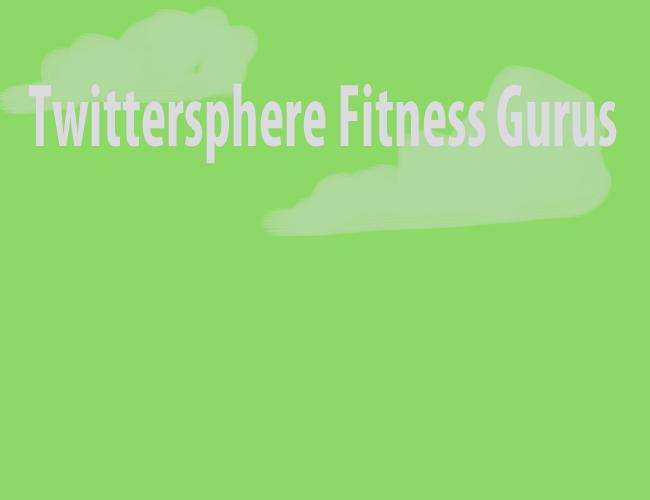 fitness gurus twitter