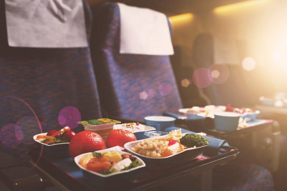 airline food taste