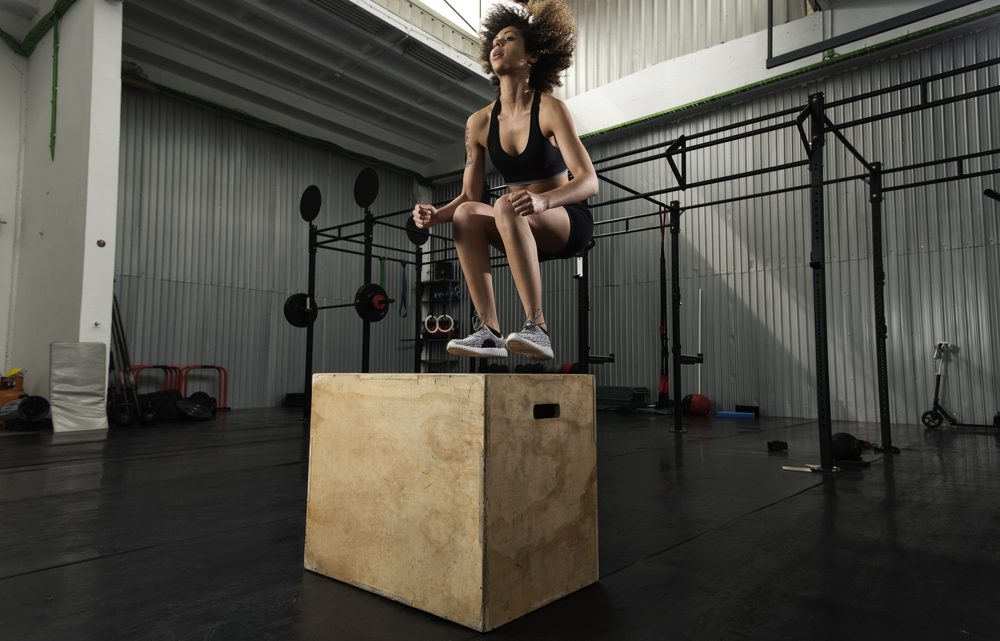 box jump exercise
