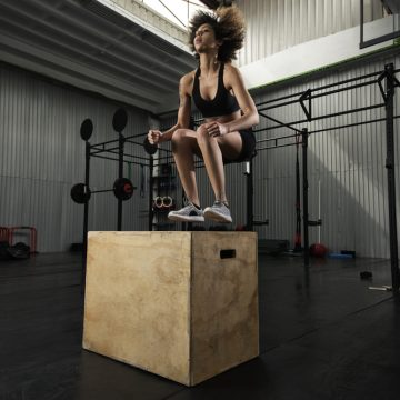 box jump exercise