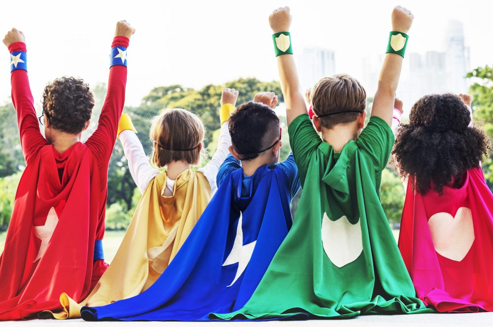 princess superhero kids