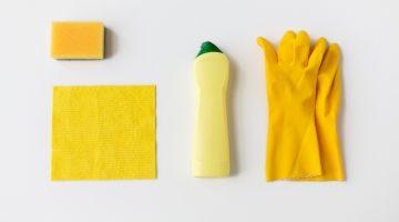 spring clean dusting citrus DIY