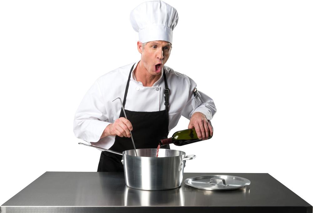 alcohol cooking evaporates